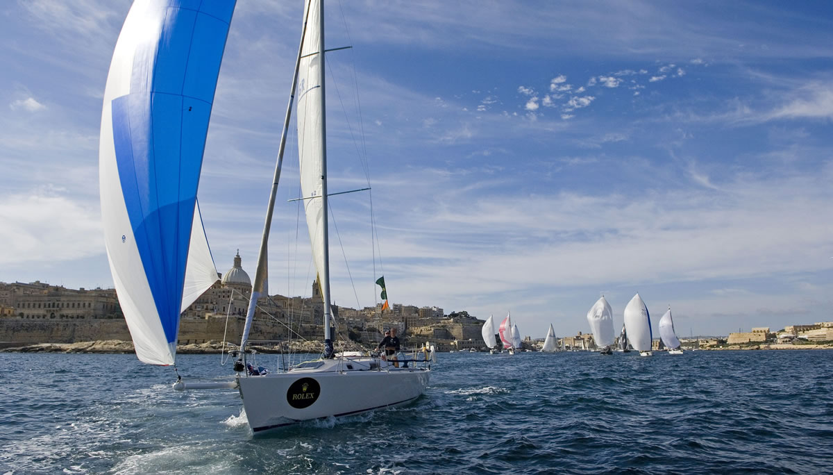 High-end Incentive Programme around the Rolex Middle Sea Race