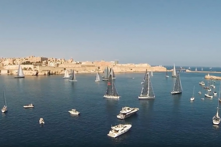 Incentive programme during Rolex Middle Sea Race in Malta